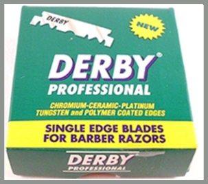 Derby Professional Razor Blades