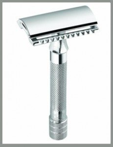 merkur classic safety razor used for detailing your beard after a proper trim