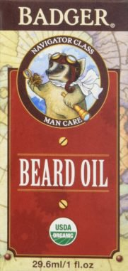 beard oil by Badger