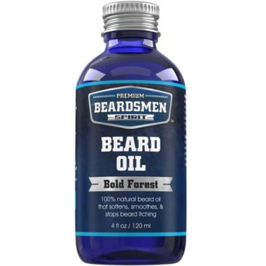 Premium beard oil by Beardsmen