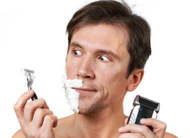 wet shaving or electric shaving?