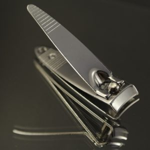 compound lever nail clippers