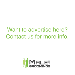 advertise male groomings
