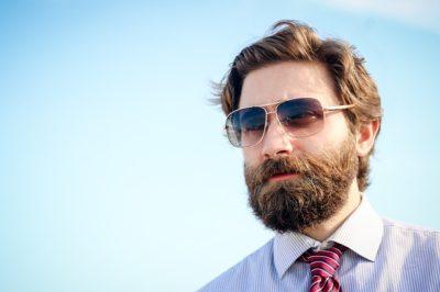 reducing beard dandruff